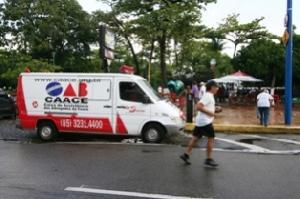 CAACE inovando disponibiliza diariamente Transporte Hospitalar para os advogados na Av. Beira Mar