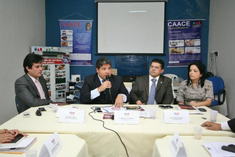 Delegados da CAACE elogiam atuação da OAB-CE