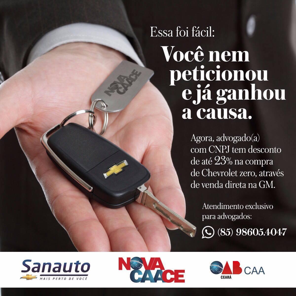 Novo convênio oferece descontos na compra de veículos