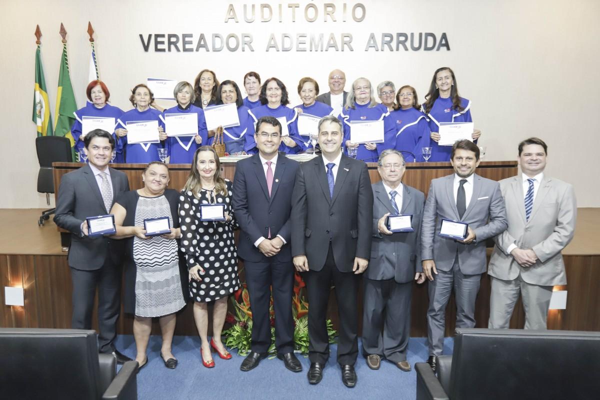 Sessão Solene 75 anos de Fundação CAACE – Câmara Municipal de Fortaleza – 26.06.18