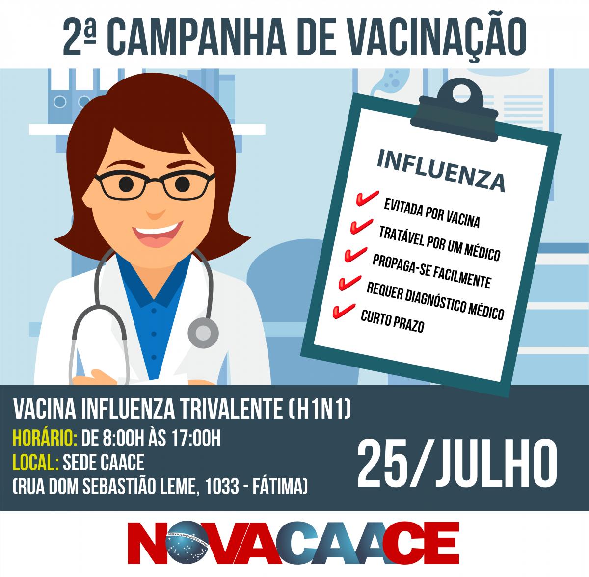 2ª Campanha de Vacinação CAACE