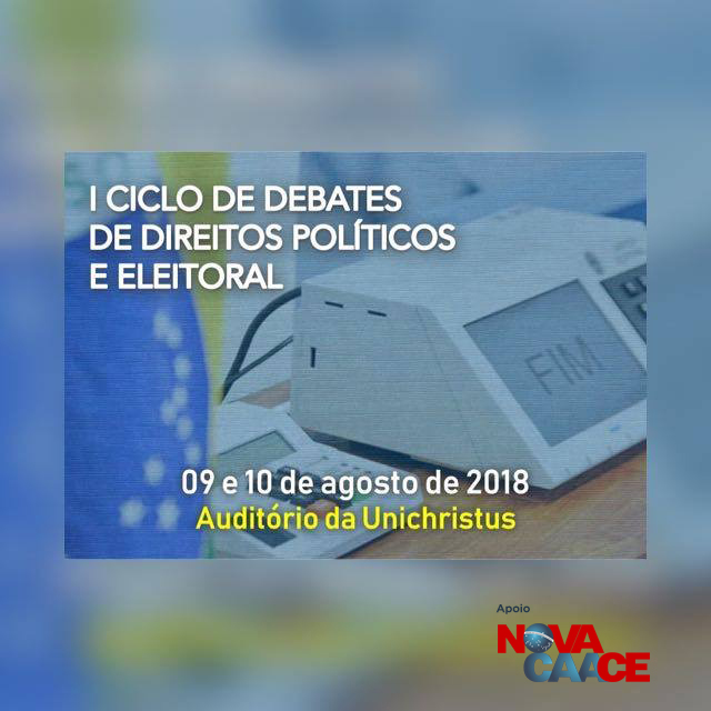 I Ciclo de Debates de Direitos Políticos e Eleitoral