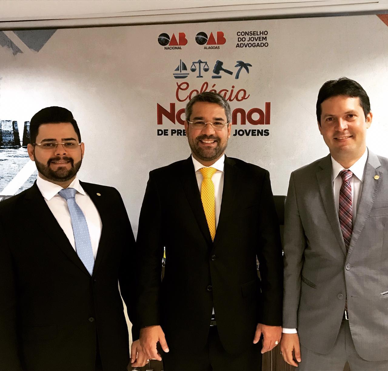 Presidentes da Jovem Advocacia participam do Colégio Nacional de Presidentes Jovens em Maceió/AL