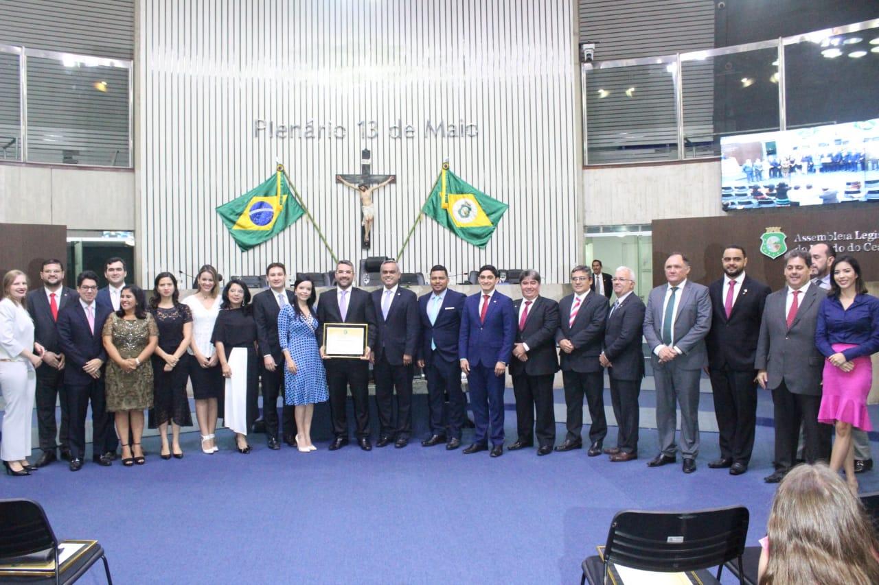 Solenidade em alusão aos 76 anos da CAACE, realizada na Assembleia Legislativa do Ceará.