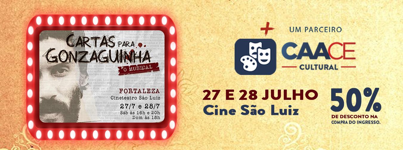 """""""Cartas para Gonzaguinha – O Musical"""""""