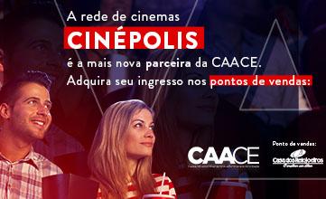A Rede Cinépolis de Cinema é parceira da CAACE