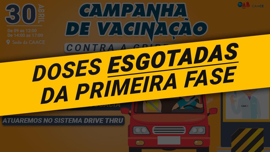 CAACE promove campanha de Vacinação para Advocacia