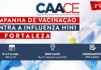 Segundo lote de vacinas contra a H1N1