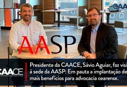 Presidente da CAACE faz visita à sede da AASP