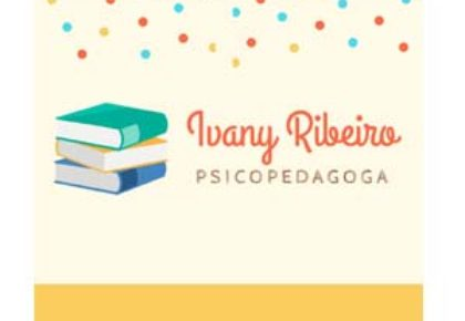 IVANY RIBEIRO PSICOPEDAGOGA