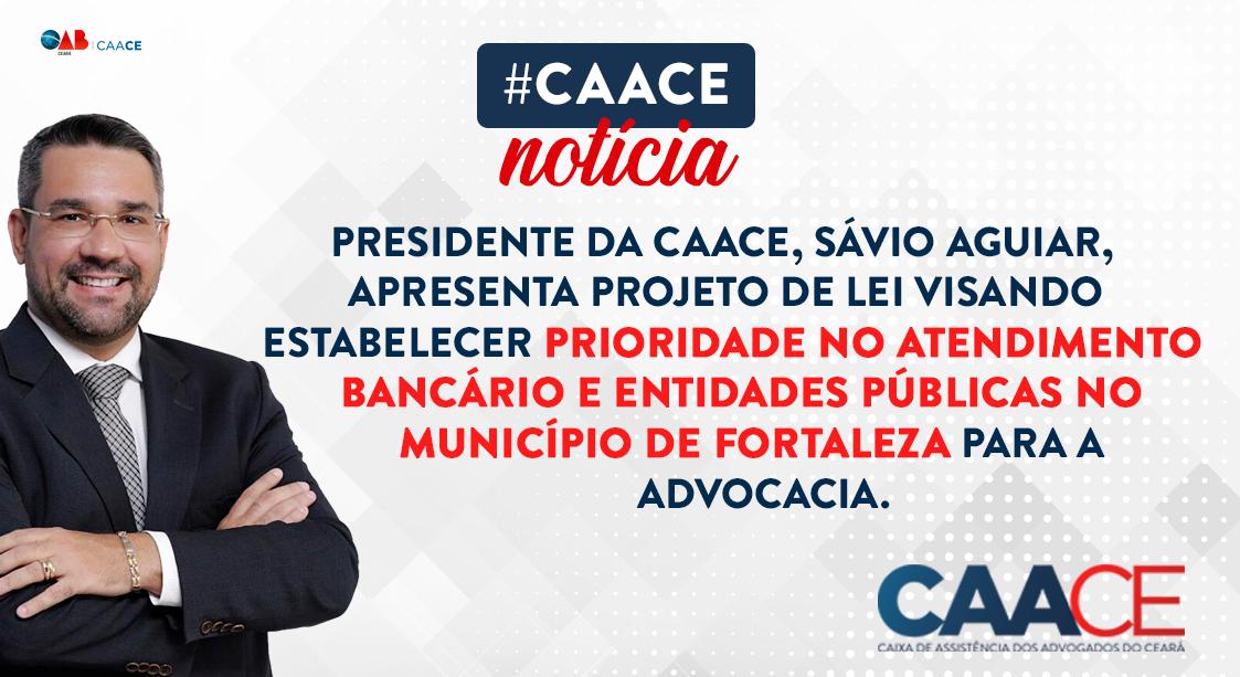Presidente Sávio Aguiar, apresenta Projeto de Lei que busca estabelecer atendimento prioritário para advocacia no exercício da profissão