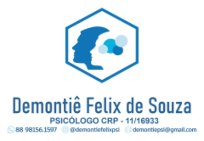 Demontiê Félix de Souza Psicólogo Clínico